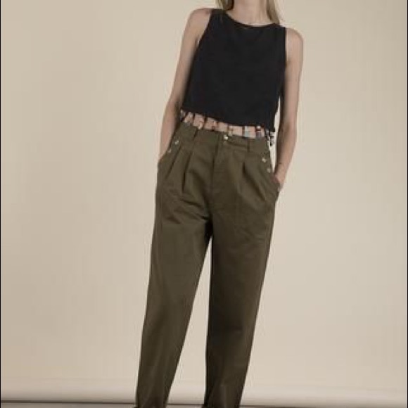 b3f7992b8be Rachel Antonoff Freddie Twill Pants
